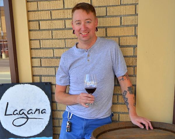 Jason Fox owns Lagana Cellars in Walla Walla.