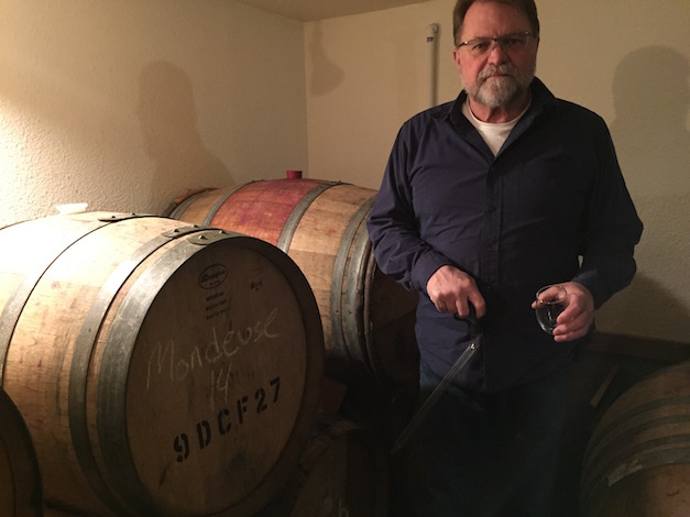 Joseph Ginet is a rancher, grower, winemaker and owner of Plaisance Ranch in the Applegate Valley near Jacksonville, Ore.