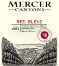 mercer canyons red blend 2014 label1 120x134 - Mercer Canyons 2014 Red Blend, Horse Heaven Hills, $14