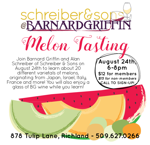 schreiber-and-sons-melon-tasting-barnard-griffin-2016-poster