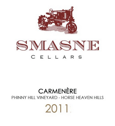 Smasne Cellars Phinny Hill Vineyard Carmanere