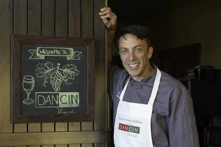 Executive chef Timothy Keller, who grew up and trained in the Bay Area, has been hired to spearhead the culinary program at DANCIN Vineyards in Jacksonville, Ore.