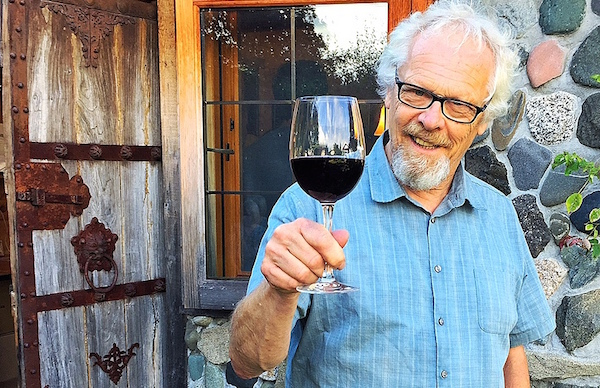 Alphonse deKlerk of Rolling Bay Winery on Bainbridge Island