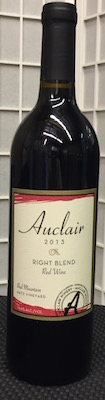 auclair-winery-right-blend-red-wine-2013-bottle