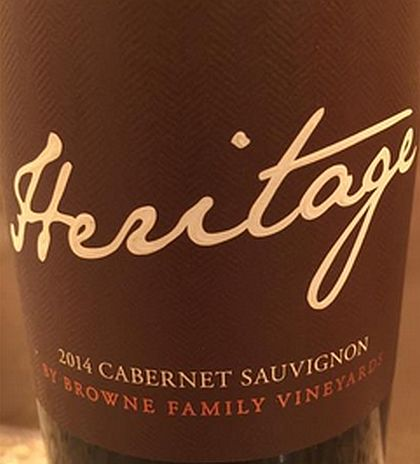 browne-family-vineyards-heritage-cabernet-sauvignon-2014-label