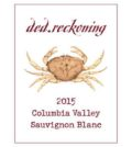 ded reckoning sauvignon blanc 2015 label 120x134 - ded.reckoning Wine Co. 2015 Sauvignon Blanc, Columbia Valley, $14