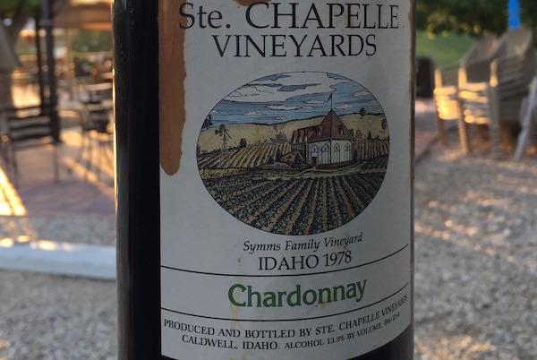 Ste. Chapelle Chardonnay