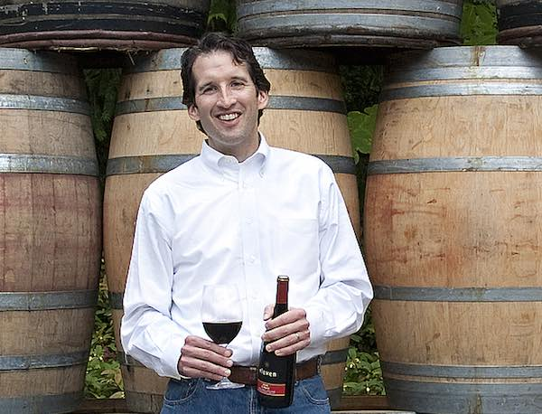 Matt Albee of Eleven Winery on Bainbridge Island