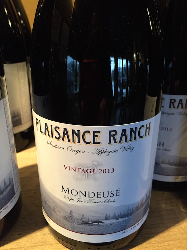Mondeusé Noire is a grape native to the French Alps region of Savoie, and Oregon winemaker Joe Ginet sent cuttings from a relative's vineyard to Missouri State University, which passed the material through its quarantine program.