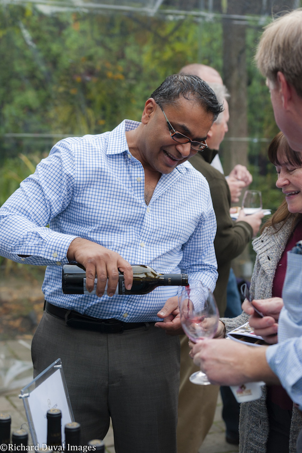 Kit Singh, owner/winemaker of Lauren Ashton Cellars, is among those who will be a return participant in the Woodinville Wine Country WineCraft: Harvest Wine Auction. (Photo by Richard Duval Images)