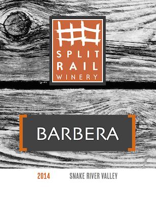 split-rail-winery-barbera-2014-label