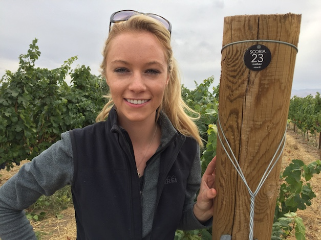Sydney Nederend, 23, who graduated from Boise State University with finance degree, recently opened a tasting room near the Sunnyslope Wine District for her young Scoria Vineyards and Winery. Her long-range plan is to have 100 acres of her family's property planted to vineyards by 2022.
