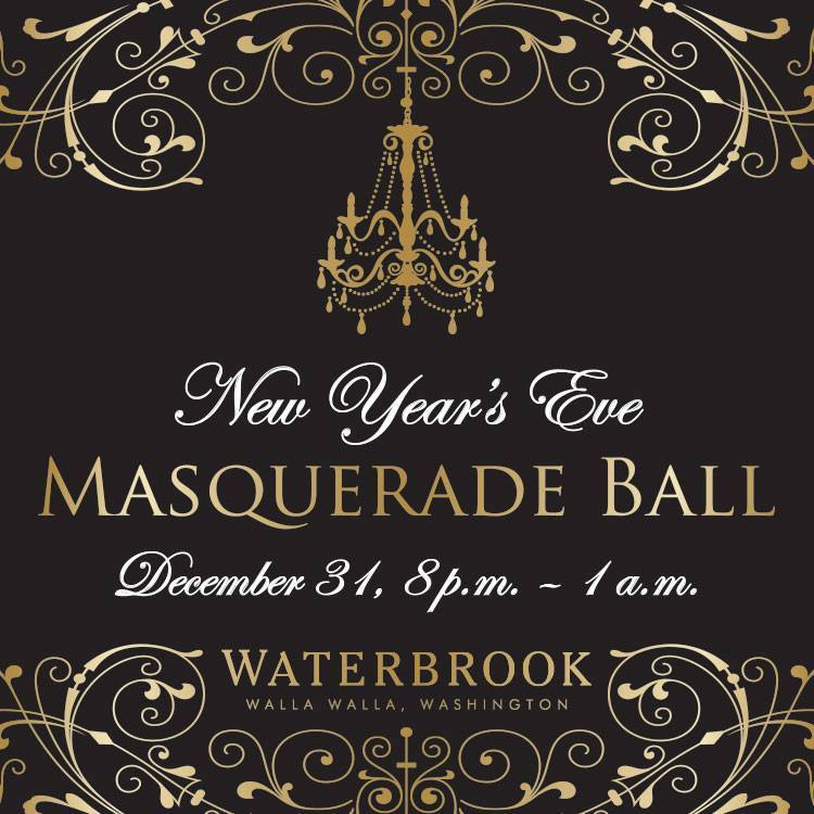 New Years Eve Masquerade Party At Waterbrook Winery
