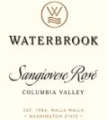 waterbrook winery sangiovese rosé 2015 label 120x134 - Waterbrook Winery 2015 Sangiovese Rosé, Columbia Valley, $13