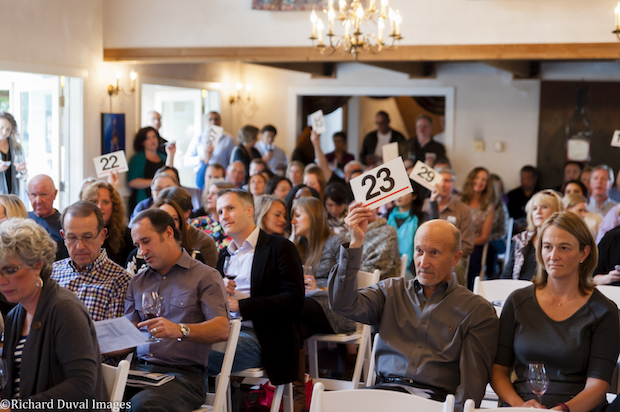 The inaugural Woodinville Wine Country WineCraft:Harvest Wine Auction was staged Oct. 25, 2015, at the DeLille Chateau.