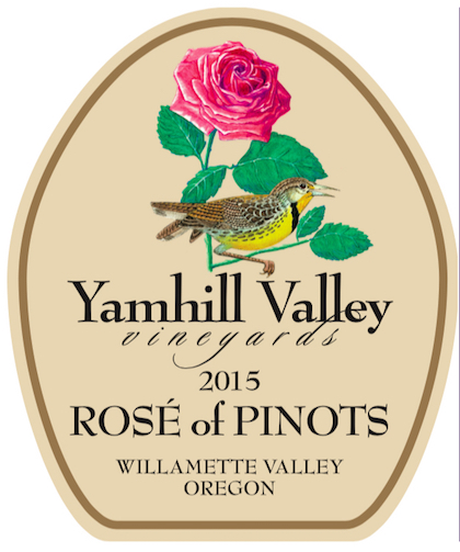 Willamette International Travel: Yamhill Valley Vineyards 2015 Rosé Of Pinots, Willamette