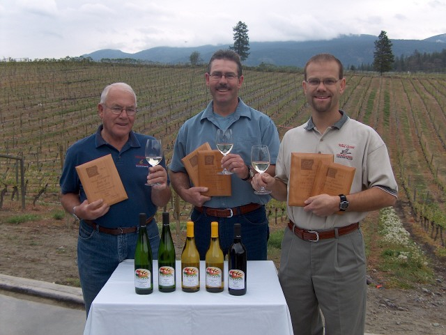 adolf kruger hagen kruger roland kruger - 3 generations inspire award-winning wines at Wild Goose Vineyards