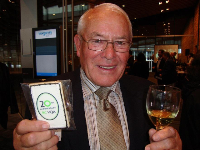 "Adolf ""Fritz"" Kruger, founder/co-owner of award-winning Wild Goose Vineyards In Okanagan Falls, British Columbia, died Sunday at the age of 85. He was a founding director of the BC Wine Institute and spearheaded the effort to establish farmgate wineries throughout the province."