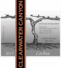 clearwater canyon cellars lochsa 2015 label 120x134 - Clearwater Canyon Cellars 2015 Umiker Vineyard Lochsa White Wine, Lewis-Clark Valley, $15