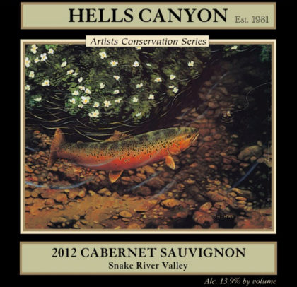 hells-canyon-winery-artist-conservation-series-cabernet-sauvignon-2012-label