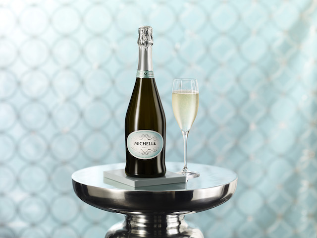Michelle Sparkling Wines nonvintage Brut is created with methode Champenoise using a blend of Chardonnay, Pinot Noir and Pinot Gris. It is aged on the lees for 18 months and topped with a dosage to create a residual sugar of about 1.3 percent.