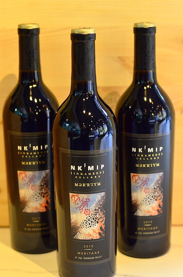 Nk'Mip Cellars features wines from vineyards owned and operated by Osoyoos Indian Band in Osoyoos, British Columbia at the southern end of the Okanagan Valley and the acclaimed Black Sage Bench.