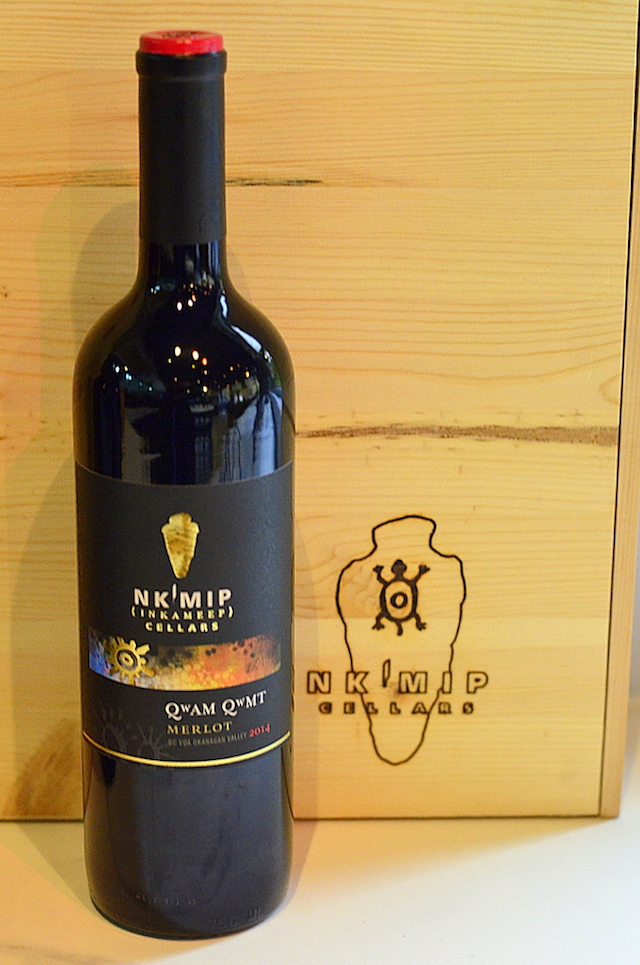 """The reserve tier from Nk'Mip Cellars is named Qwam Qwmt, which in the Okanagan language means """"achieving excellence."""""""