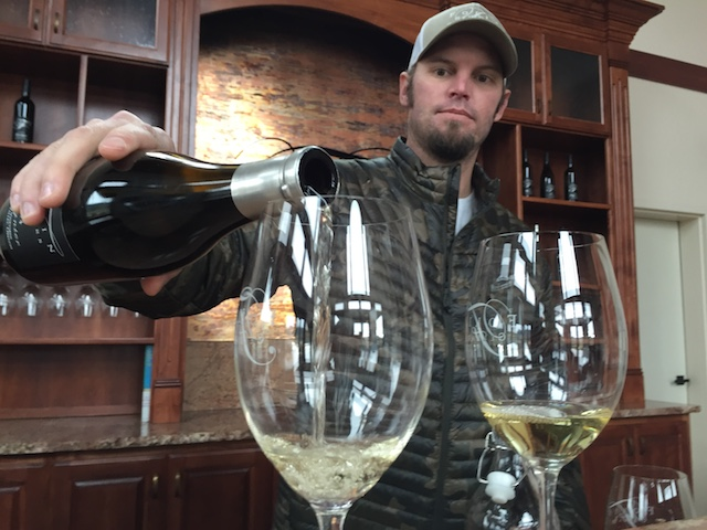 Rob Folin and his parents, Scott and Loraine Folin, have devoted much of their 25 acres of vineyard in the Rogue Valley to Rhône varieties - including Viognier.