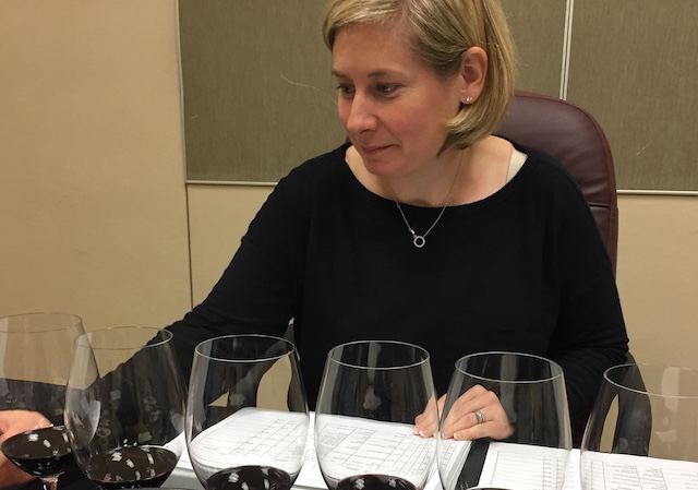 Sheri Morano judges several competitions each year, including TexSom in Dallas and the International Wine Challenge in London. (Photo by Eric Degerman/Great Northwest Wine)