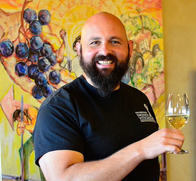 Tim Donahue is the director of winemaking at College Cellars of Walla Walla.