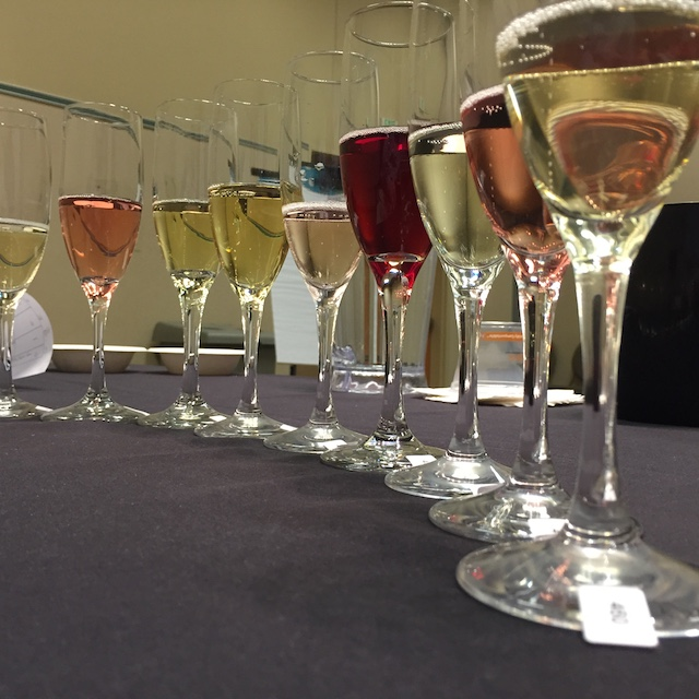 Sparkling wines scored well among judges at the 2016 Tri-Cities Wine Festival in Kennewick, Wash.