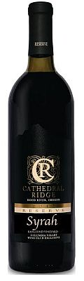 cathedral ridge winery moody vineyard reserve syrah 2014 bottle - Cathedral Ridge Winery 2014 Moody Vineyard Reserve Syrah, Columbia Valley, $48