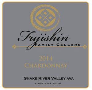fujishin family cellars chardonnay 2014 label 300x293 - Idaho wine industry coming into its own