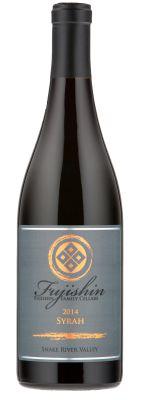 fujishin family cellars syrah 2014 bottle - Washington Syrah continues to grow in popularity