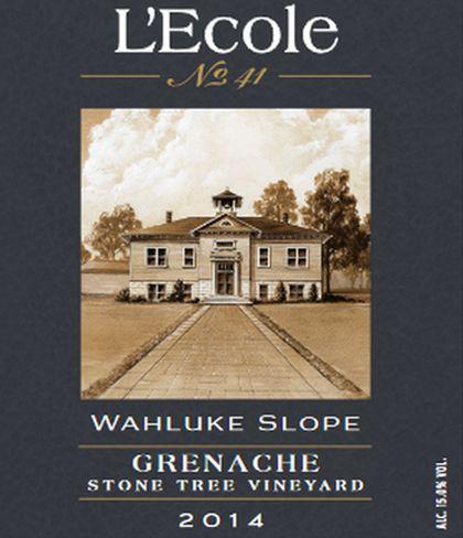 lecole-no-41-stonetree-vineyard-grenache-2014-label
