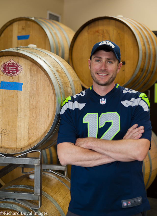 Seattle native Marcus Rafanelli draws from experience spent in the cellars at some of Washington's top wineries as vintage winemaker for College Cellars at Walla Walla Community College.