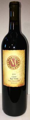 martinez-and-martinez-winery-césar-red-wine-2013-bottle
