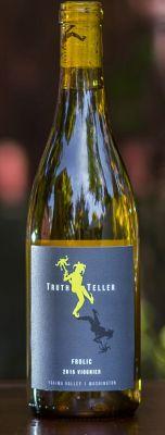 truth teller frolic viognier 2015 bottle - TruthTeller Winery 2015 Frolic Viognier, Yakima Valley, $20