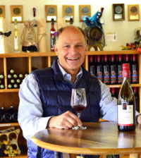Walter Gehringer is the winemaking brother at Gehringer Brothers Estate Winery in Oliver, British Columbia.