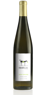 daven lore sweet riesling nv bottle - Washington Riesling not just a Ste. Michelle thing