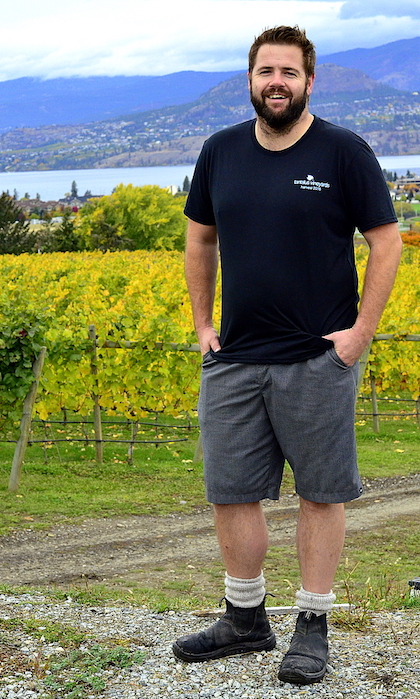 david paterson tantalus vineyards okanagan lane - Paterson takes Tantalus Vineyards to another level