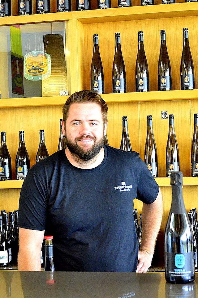 david paterson tantalus vineyards tasting bar - Paterson takes Tantalus Vineyards to another level