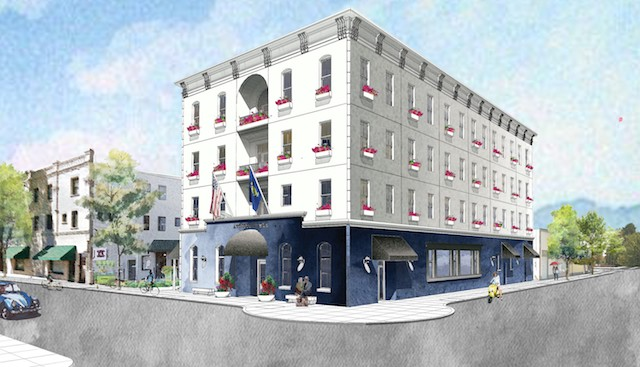 nathan cooprider architect atticus hotel - McMinnville group to build 4-story Atticus Hotel for Oregon wine tourists