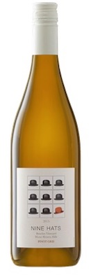nine hats pinot gris 2015 bottle - Nine Hats Wines 2015 Benches Vineyard Pinot Gris, Horse Heaven Hills, $14