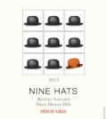 nine hats pinot gris 2015 label 120x134 - Nine Hats Wines 2015 Benches Vineyard Pinot Gris, Horse Heaven Hills, $14