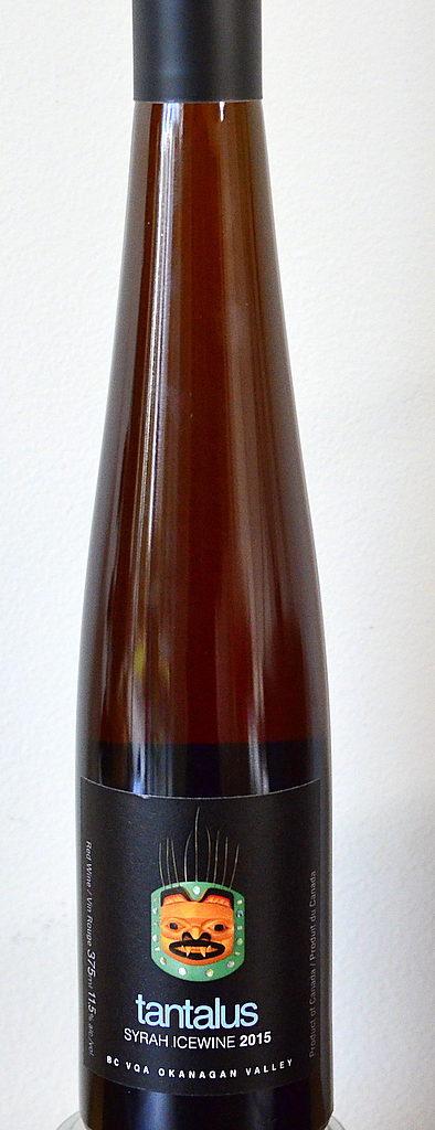 tatanlus vineyards syrah icewine bottle 394x1024 - Paterson takes Tantalus Vineyards to another level