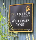 cc jentsch cellars sign 120x134 - Okanagan Valley orchardists transition to stellar wines at C.C. Jentsch