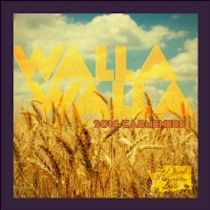 drink washington state enjoy walla walla carménère 2014 label - Drink Washington State 2014 Enjoy Walla Walla Carménère, Walla Walla Valley, $26