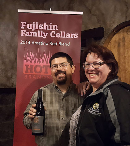 Fujishin Family Cellars, operated by Martin Fujishin and GM/wife Teresa Moye Fujishin in Caldwell, Idaho, has been named as one of 10 Hot Brands for 2016 by Wine Business Monthly magazine.