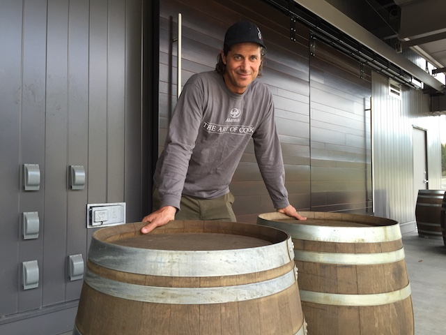 Grant Stanley headed up a wine program that produced more than 60,000 cases a year at Quails' Gate in Kelowna. He now works with about 15,000 cases.